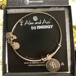 Alex and ani B charm bracelet